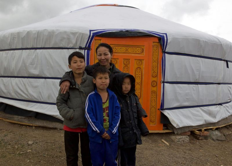 Mongolian Ger - Holt International Gifts of Hope