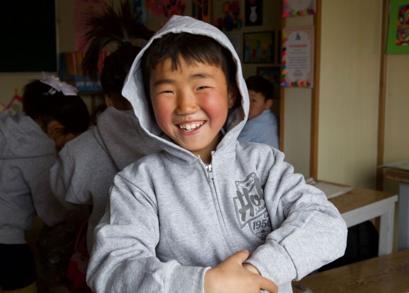 Red Stone School Mongolia - Holt International Gifts of Hope
