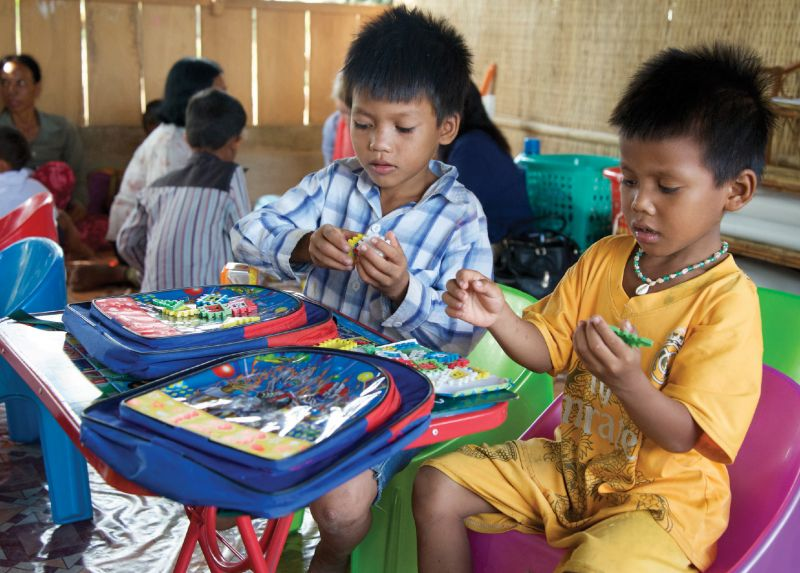 Stock A Classroom with Supplies - Holt International Gifts of Hope