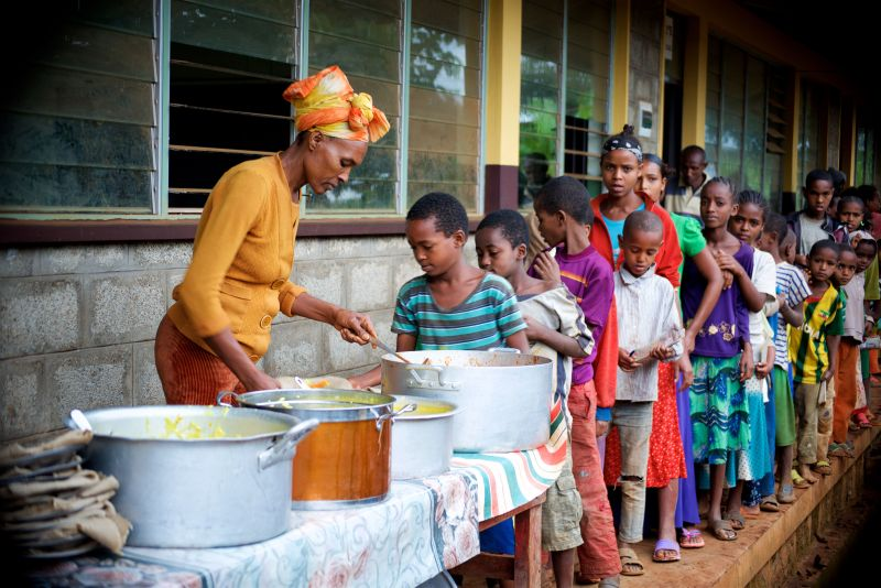 School Lunch - Holt International Gifts of Hope