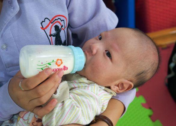 Formula for Infants in Care