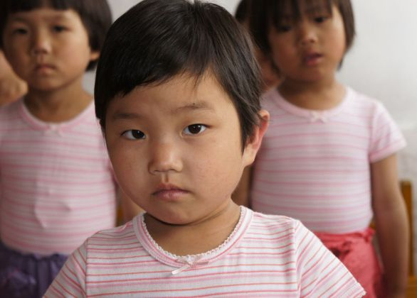 Feed Orphans in North Korea